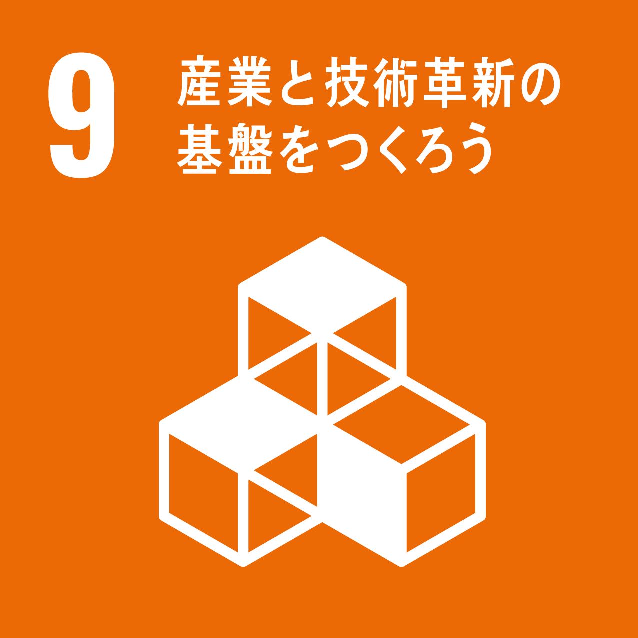 9.産業と技術革新の基盤を作ろう